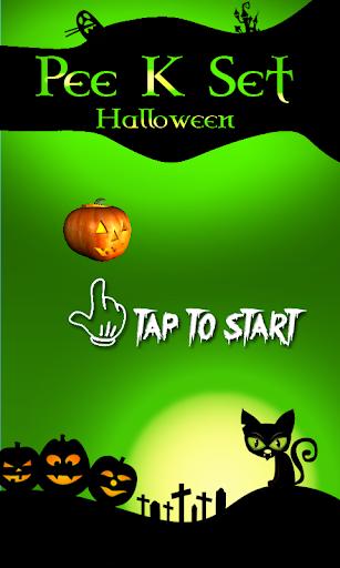 Pee K Set Halloween