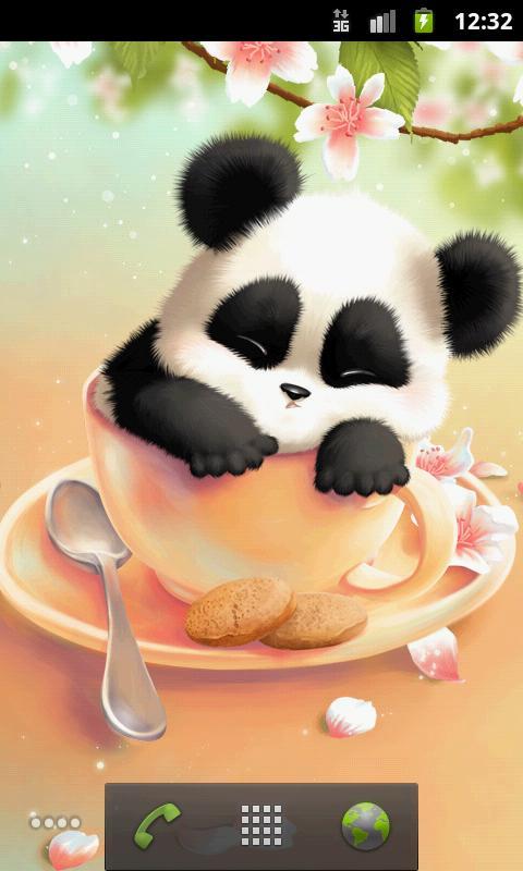 Sleepy Panda Wallpaper - Android Apps on Google Play