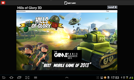Games for Tablets - screenshot thumbnail