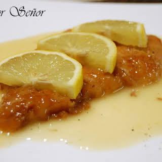 Lemon Chicken: Chinese Restaurants' Recipe.