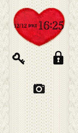 【免費個人化App】可愛換裝桌布★White Knit-APP點子