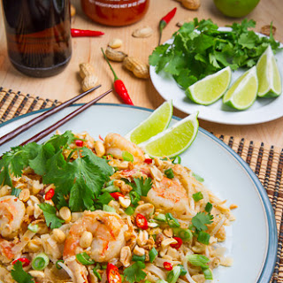 Spicy Peanut Sauce Pad Thai.