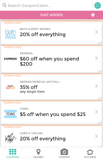 CouponCabin - Coupons Deals