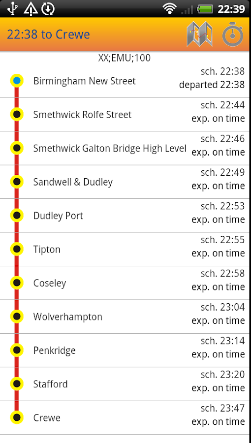 Uk Train Times Train Scout Android Apps On Google Play