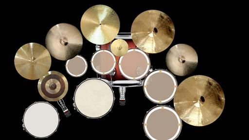 Spotlight Drums Set