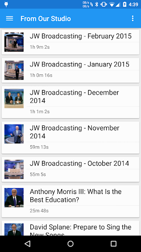 Cast for JW TV