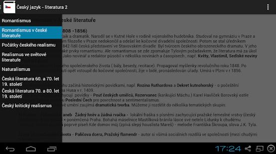 Český Jazyk  - Literatura 2 Screenshot 1