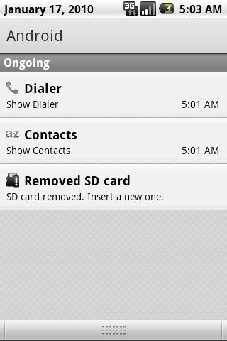 Dialer@Bar - screenshot
