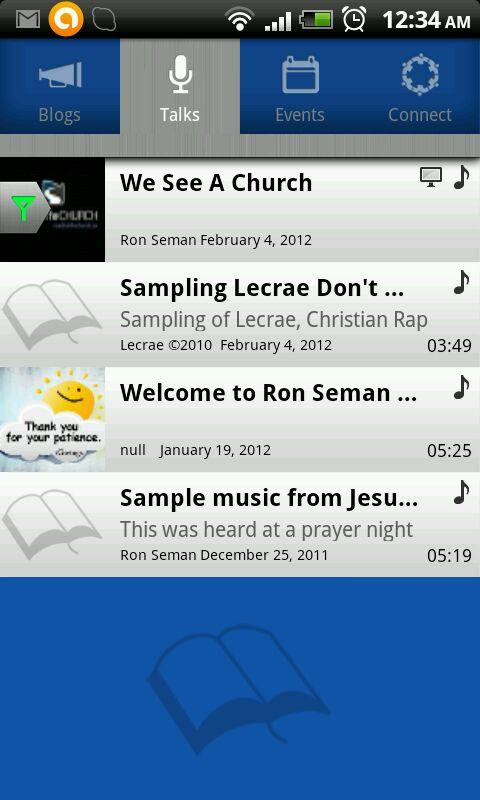 Ron Seman Ministries - screenshot