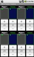 Screenshot of Life & Poison Counter