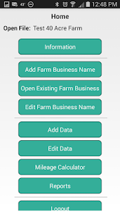 Schedule F - Farm Accounting- screenshot thumbnail