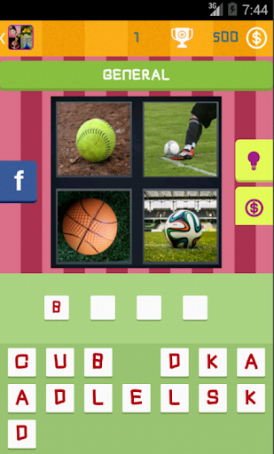 4 Pics 1 Word - Guess Word