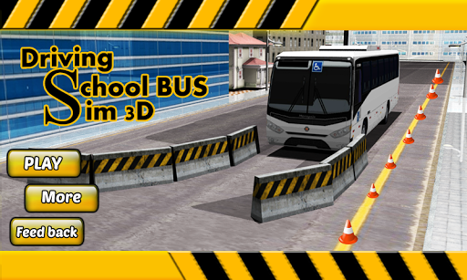運転学校:バスのSIM3D