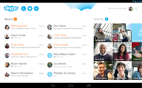 Skype - free IM & video calls Screenshot 18