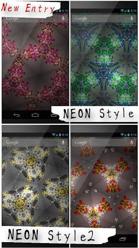 Kaleidoscope LiveWallpaper