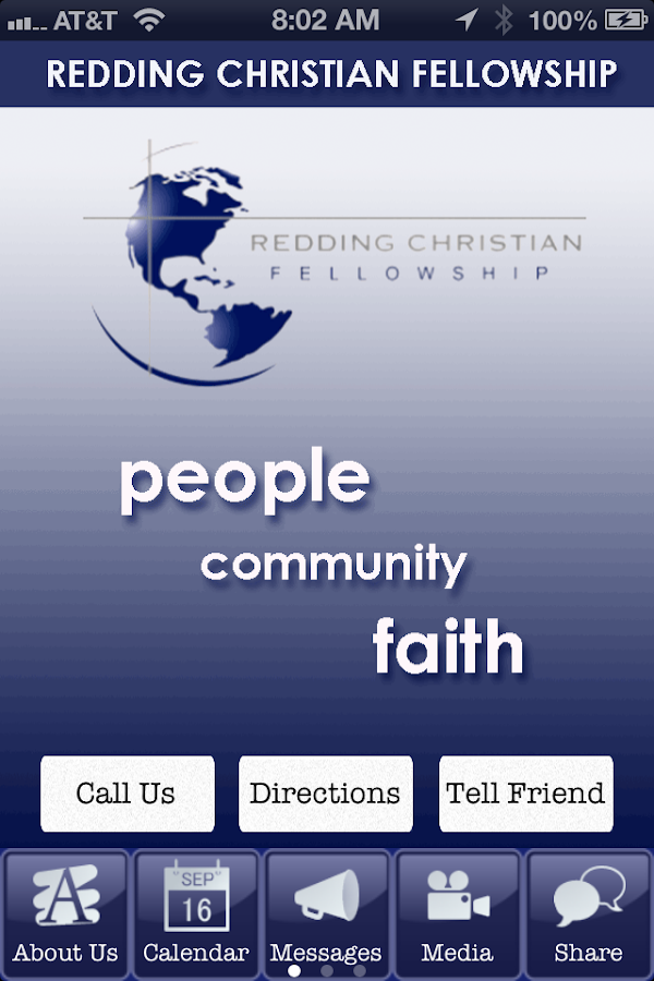 Redding Christian Fellowship- screenshot