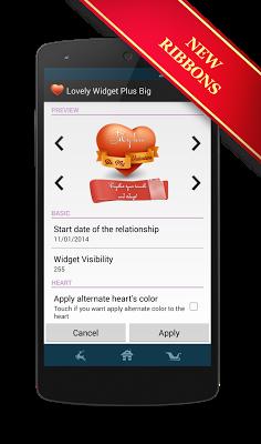 Lovely Widget Lite - screenshot