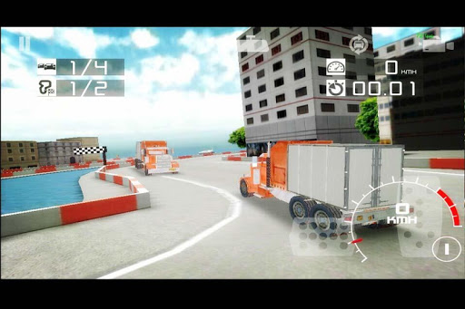 Drag Truck Racing 4x4
