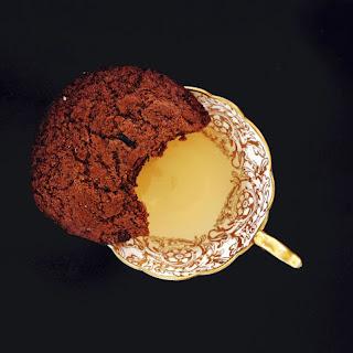 Tahini Ginger Molasses Cookies.