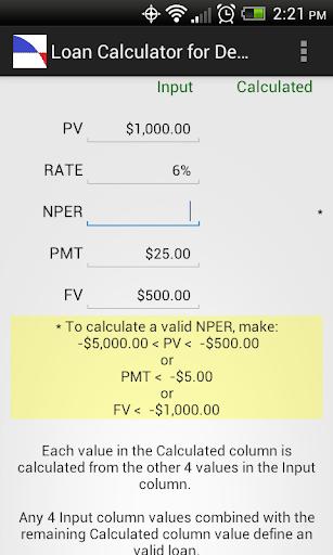 Loan Calculator for Dealmakers