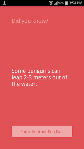 Fun Facts app (apk) free download for Android/PC/Windows screenshot