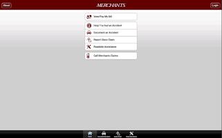 Screenshot of Merchants Mobile