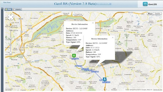 GPS Tracker Web & SMS Trial screenshot 7
