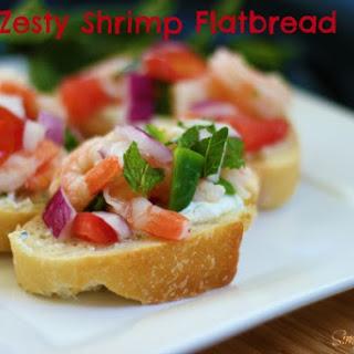 Zesty Shrimp Flatbread