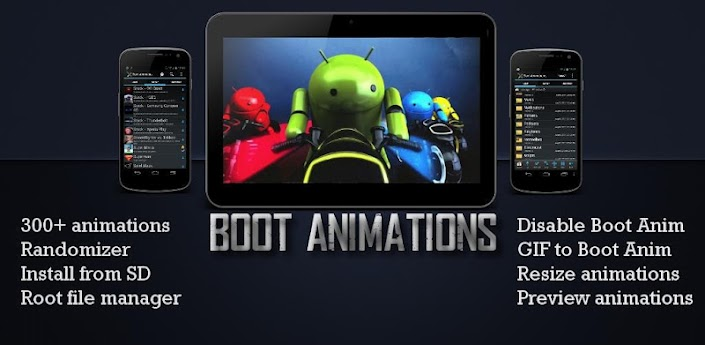 Boot Animations ★ root