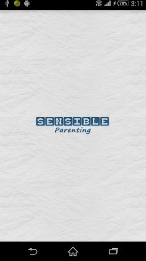 Sensible Parenting