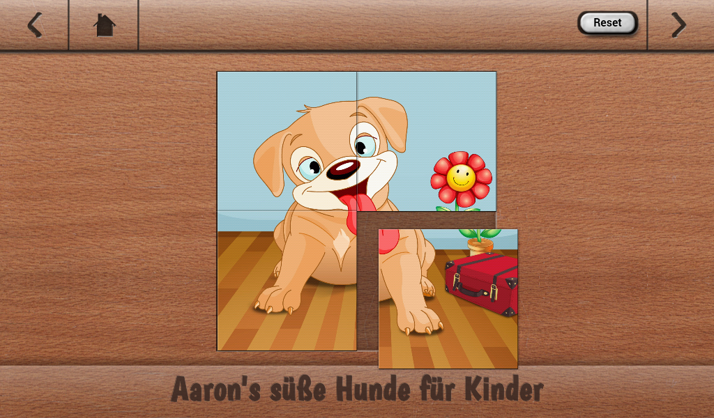 Aarons Kids Cute Puppy Puzzles- screenshot