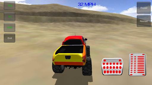 怪物卡车特技3D