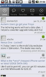 The HowardForums App Screenshot 4