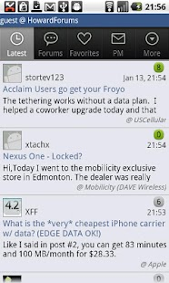 The HowardForums App Screenshot 4