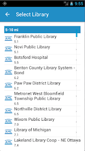 Access My Library®- screenshot thumbnail