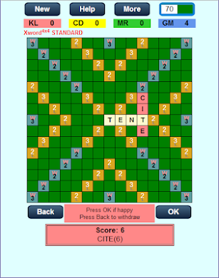 Xword4x4 screenshot for Android