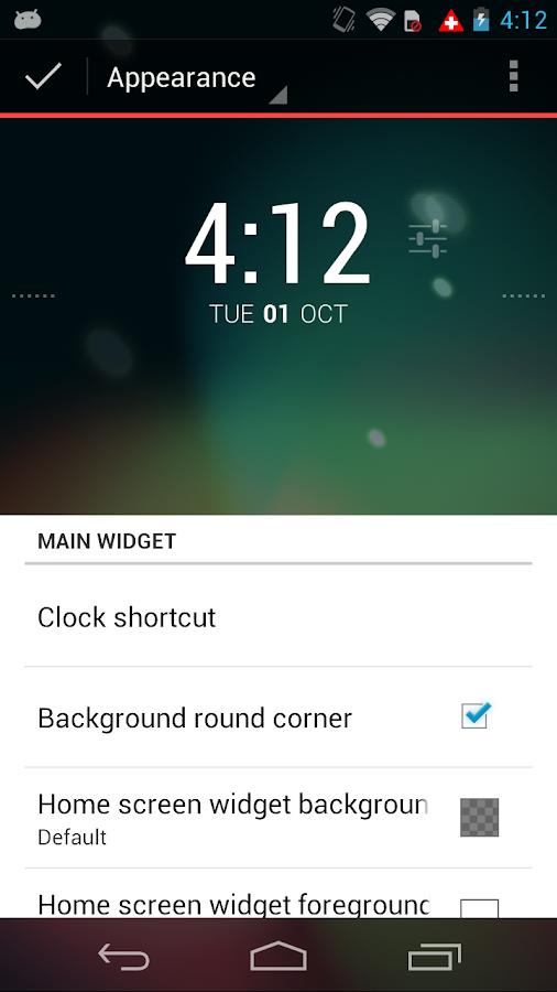 Better DashClock Widget - screenshot