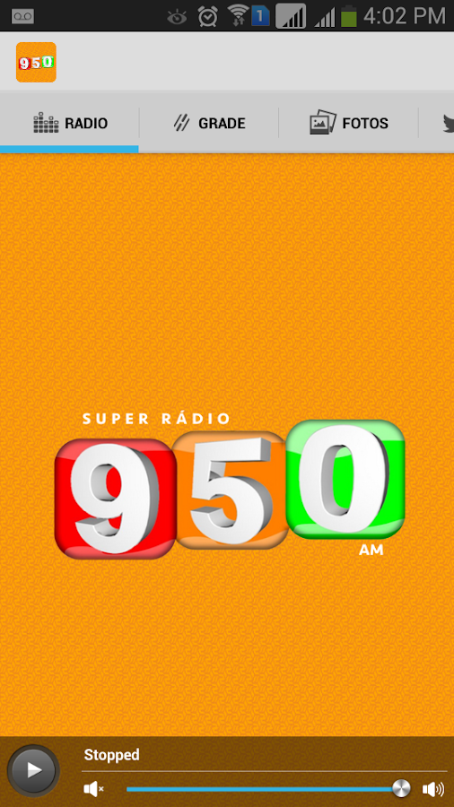 Super 950: captura de tela