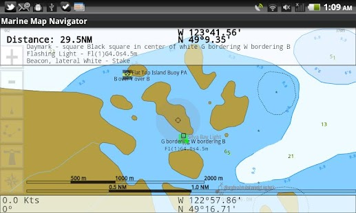 Mobile Marine Navigator - screenshot thumbnail