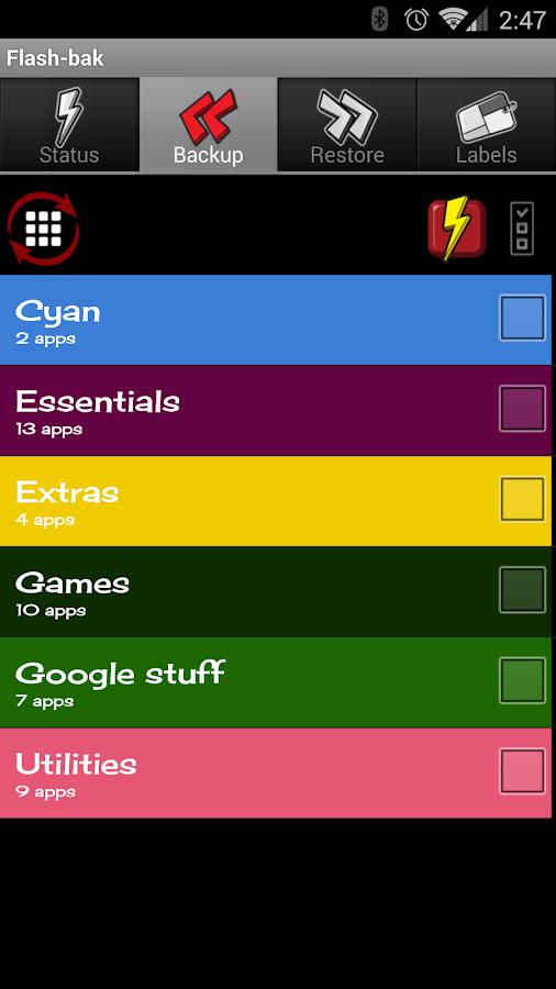 Flash Backup 3.0 3 Скачать