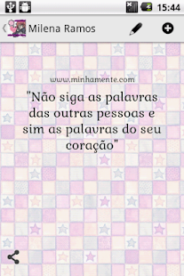 Beautiful Quotes (Portuguese) - screenshot thumbnail