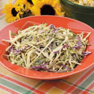 Homemade Coleslaw Dressing.