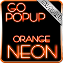 Orange Neon GO Popup theme icon