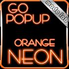 Orange Neon GO Popup theme icon