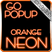Orange Neon GO Popup theme