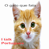 Talking cat in Portuguese