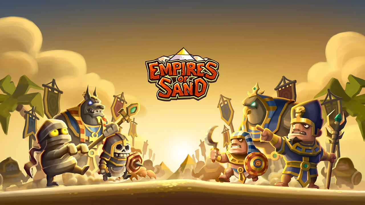 Empires of Sand - Online PvP Tower Defense Games- screenshot