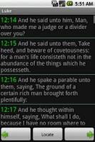 Screenshot of World English Bible