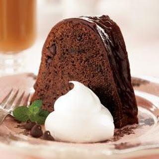 Glazed Chocolate Pound Cake