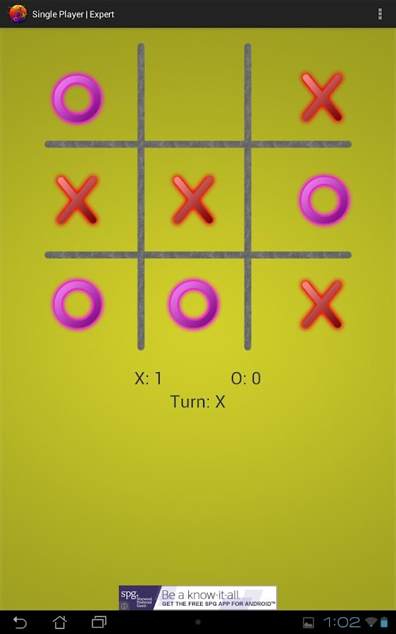 Neon Tic Tac Toe- screenshot